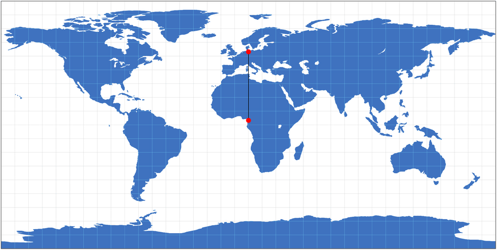 Metric properties of map projections plate carre projection gumiabroncs Image collections