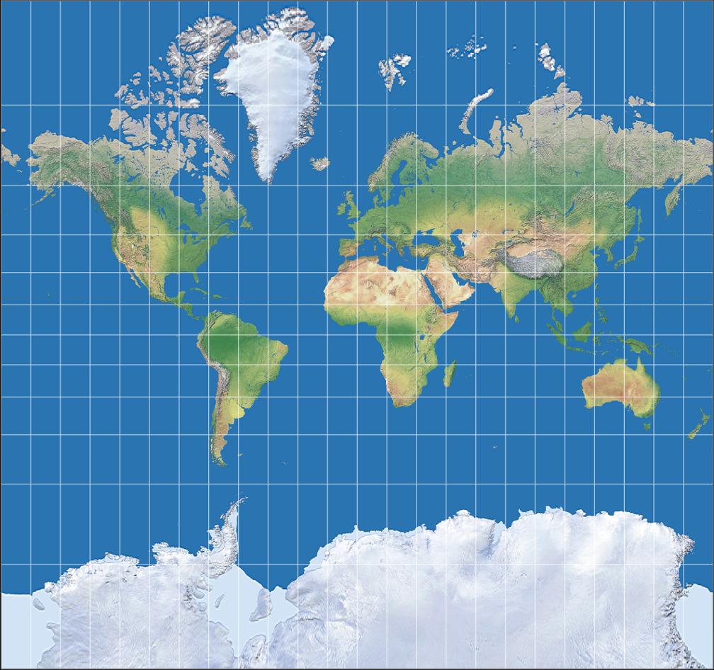 Lizenzinfo Mercator