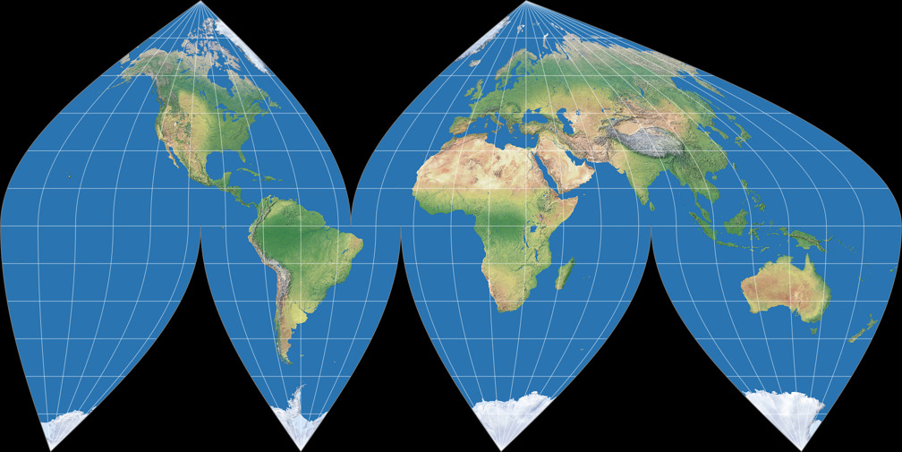 sinusoidal projection Epsg:54008 projected coordinate system  esri:54008 projected coordinate system world sinusoidal attributes data source: proj4 information source:.