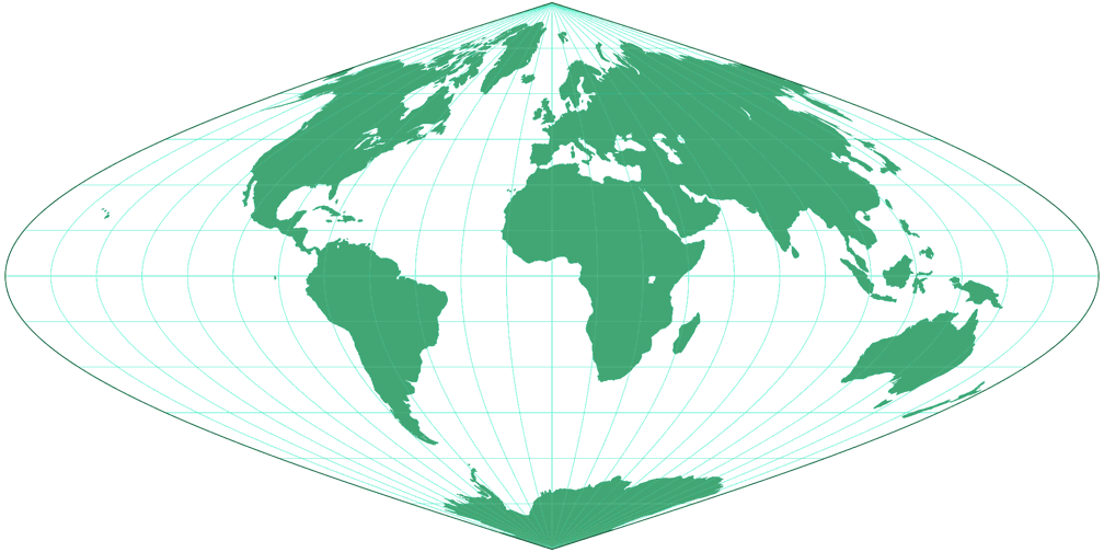 sinusoidal projection We'll look at how to make one of the only real projections i know how to do, the  peeled orange, or as we cartographers call it, the sinusoidal this projection is.