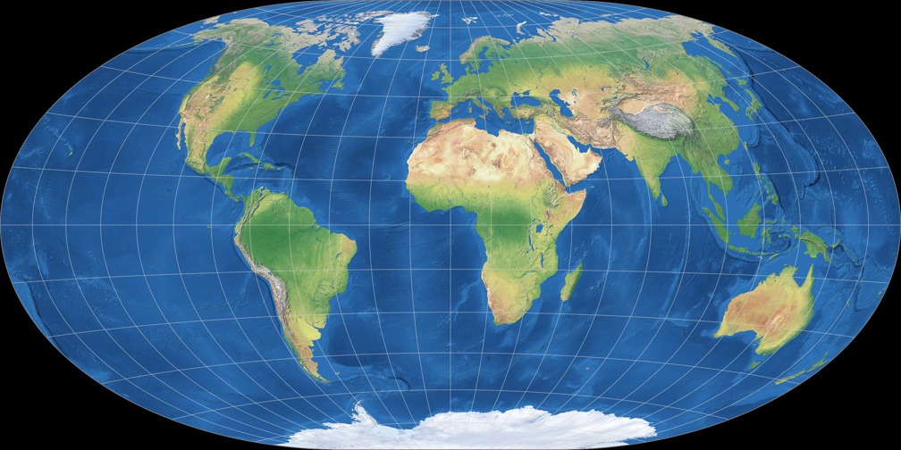 Hammer-Cylindrical Projection
