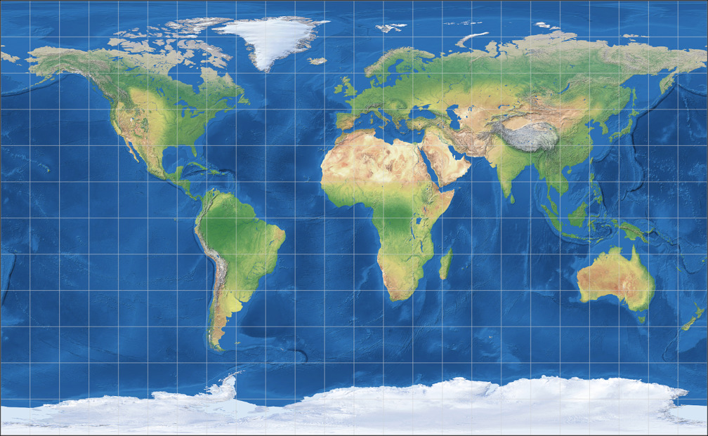 Equirectangular (35.6°) Projection