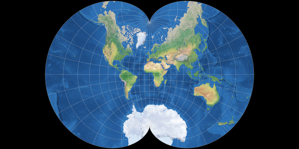 August Epicycloidal Projection