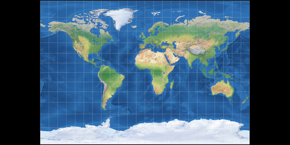 BSAM Cylindrical Projection