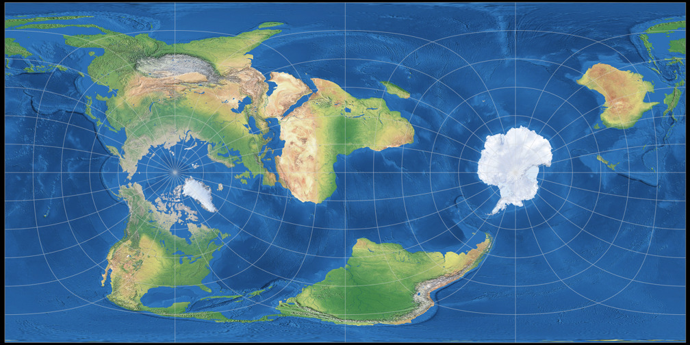 Groups Of Map Projections A Brief Introduction