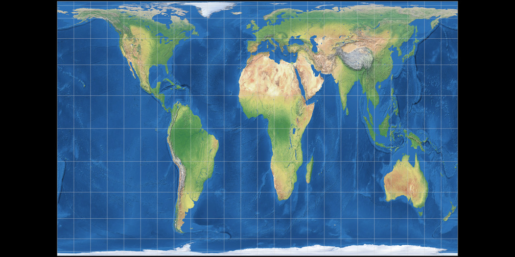 Patterson Cylindrical Projection