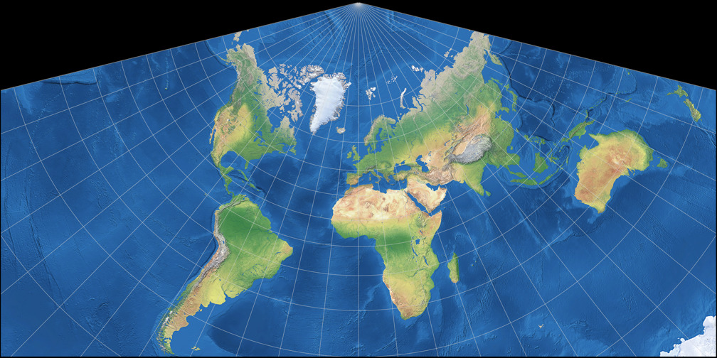 Conic Projection: Lambert, Albers and Polyconic