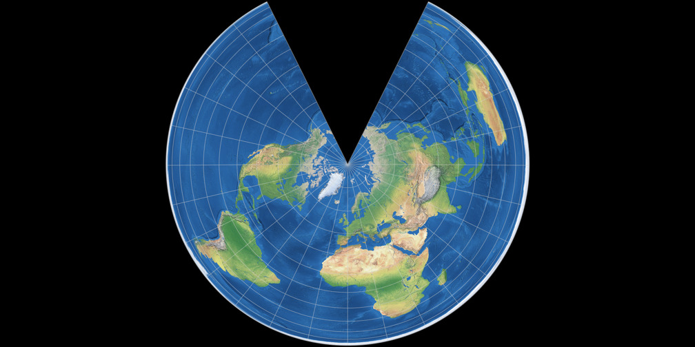 Lambert Equal-Area Conic Projection