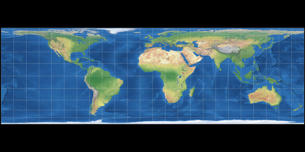 Lambert Cylindrical Projection