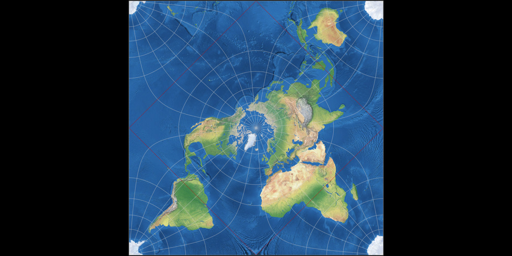 Peirce Quincuncial Projection