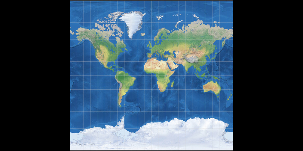 Urmayev III Cylindrical Projection