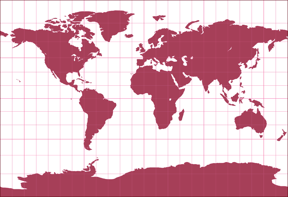 BSAM Cylindrical Silhouette Map