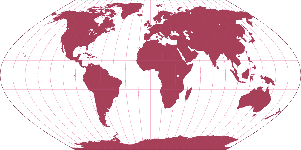Wagner II Silhouette Map