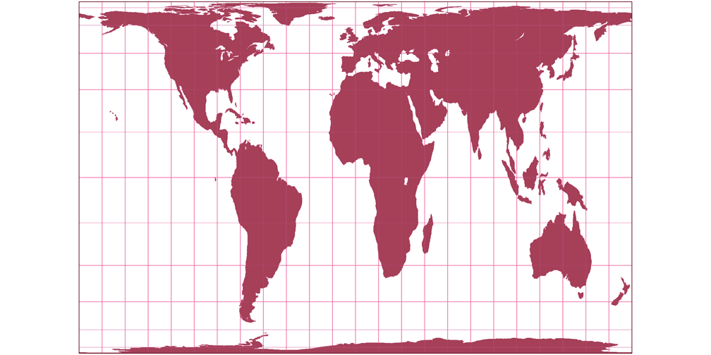 Gall Peters Vs Patterson Cylindrical Compare Map Projections
